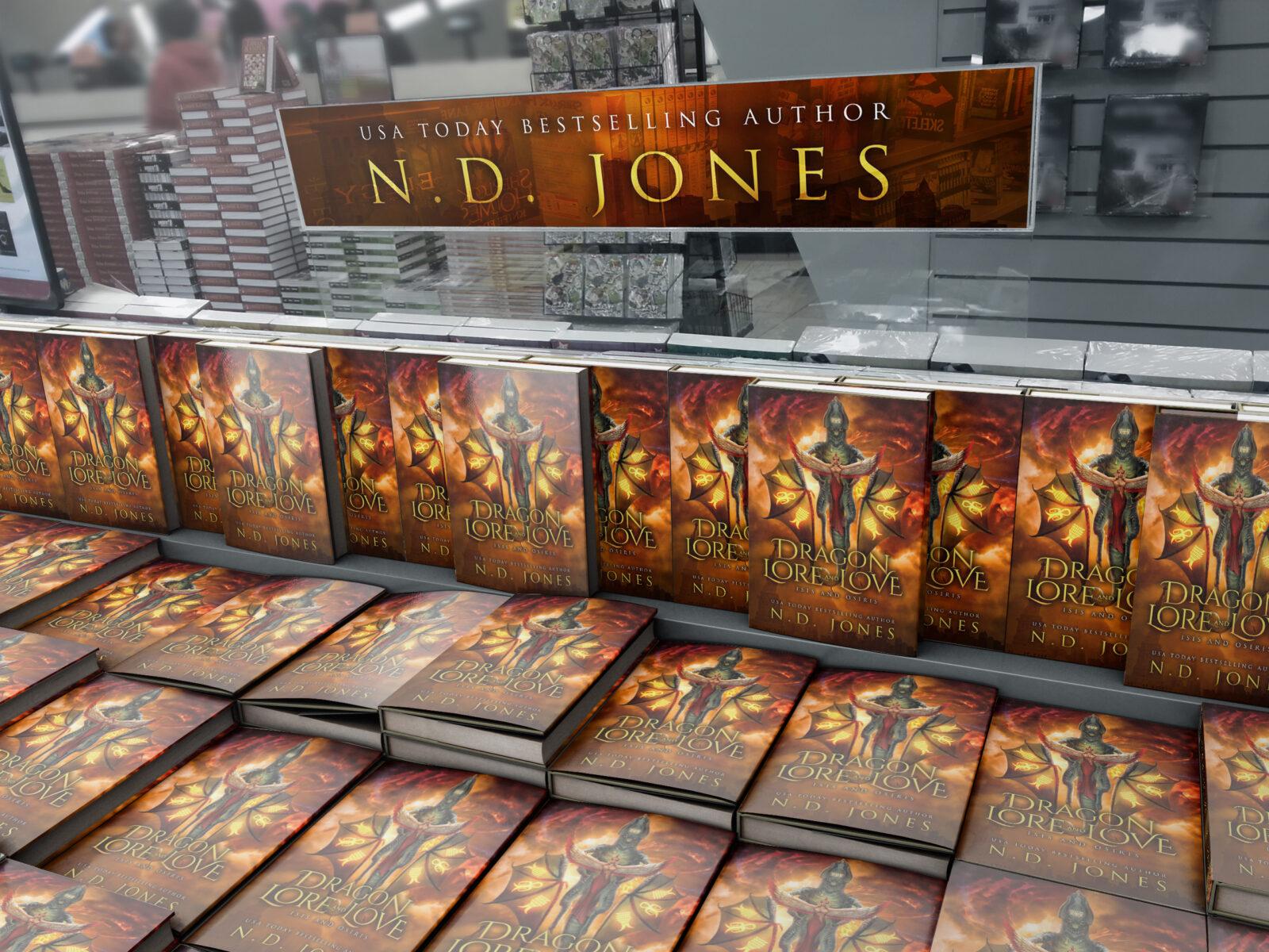Paranormal Romance Books by ND Jones Romance Author