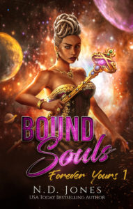 Bound Souls African American Science Fiction Fantasy Romance by ND Jones
