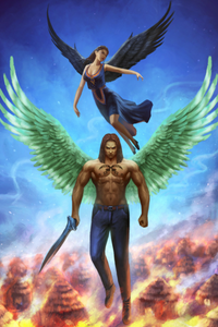 Fire Fury Faith African American Paranormal Romance Novel by ND Jones