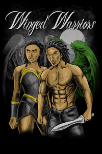Winged Warriors Angels and Demons African American Fantasy Romance Novel by ND Jones