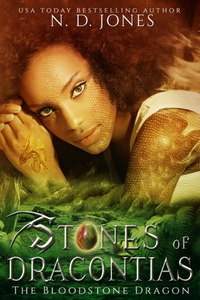 Stones of Dracontias African American Dragon Shifter Paranormal Romance 200x300