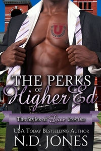 The Perks of Higher Ed African American Contemporary Romance by ND Jones, African American Female Author 200x300