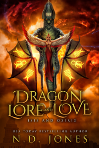 Dragon Lore and Love Shifter Romance by ND Jones 200x300