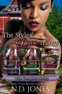 African American Holiday Romance by African American author ND Jones