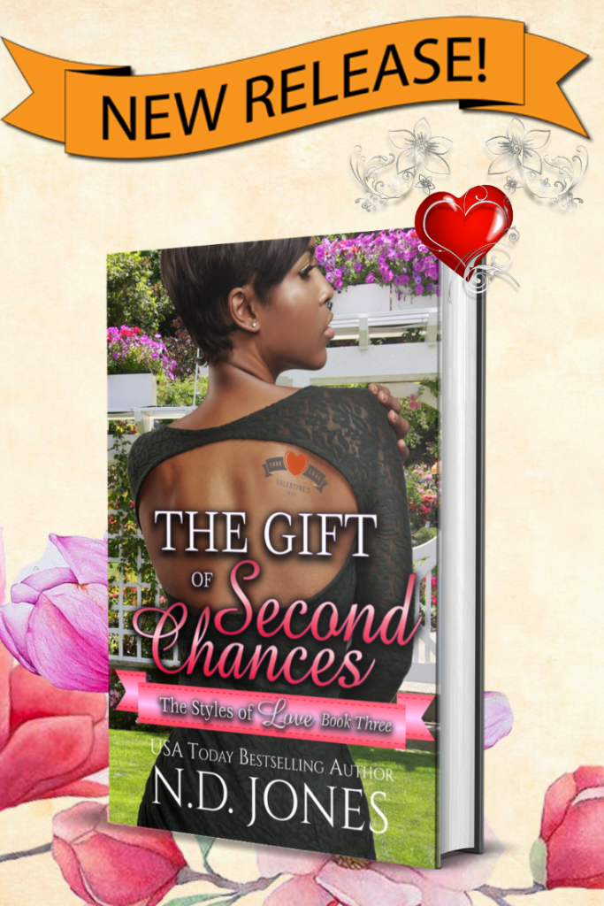 African American Contemporary Holiday Romance by ND Jones Gift of Second Chances Romance (2)