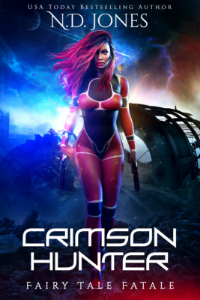 Crimson Hunter African American Urban Fantasy by African American Author ND Jones