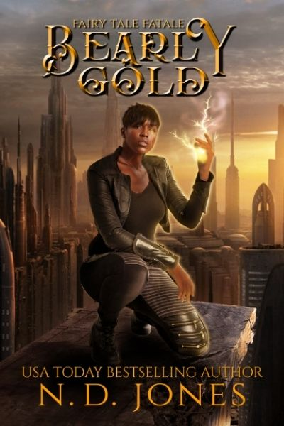 Bearly Gold Urban Fantasy by ND Jones