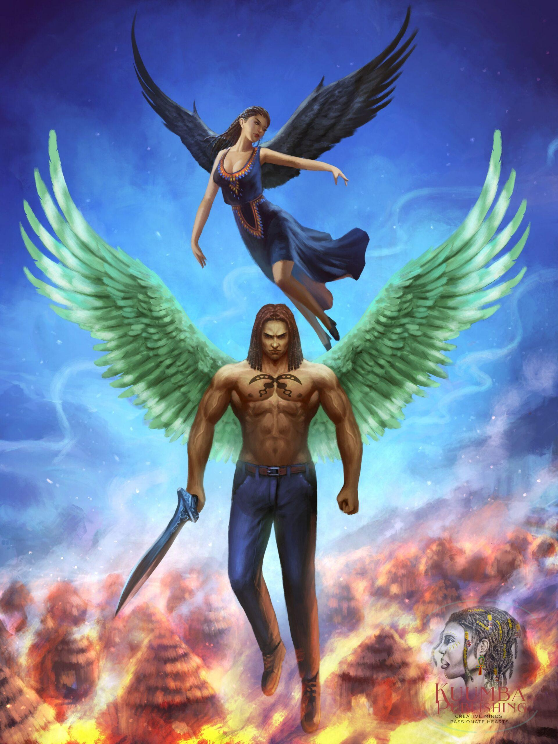 Fire Fury Faith Black Angels by ND Jones