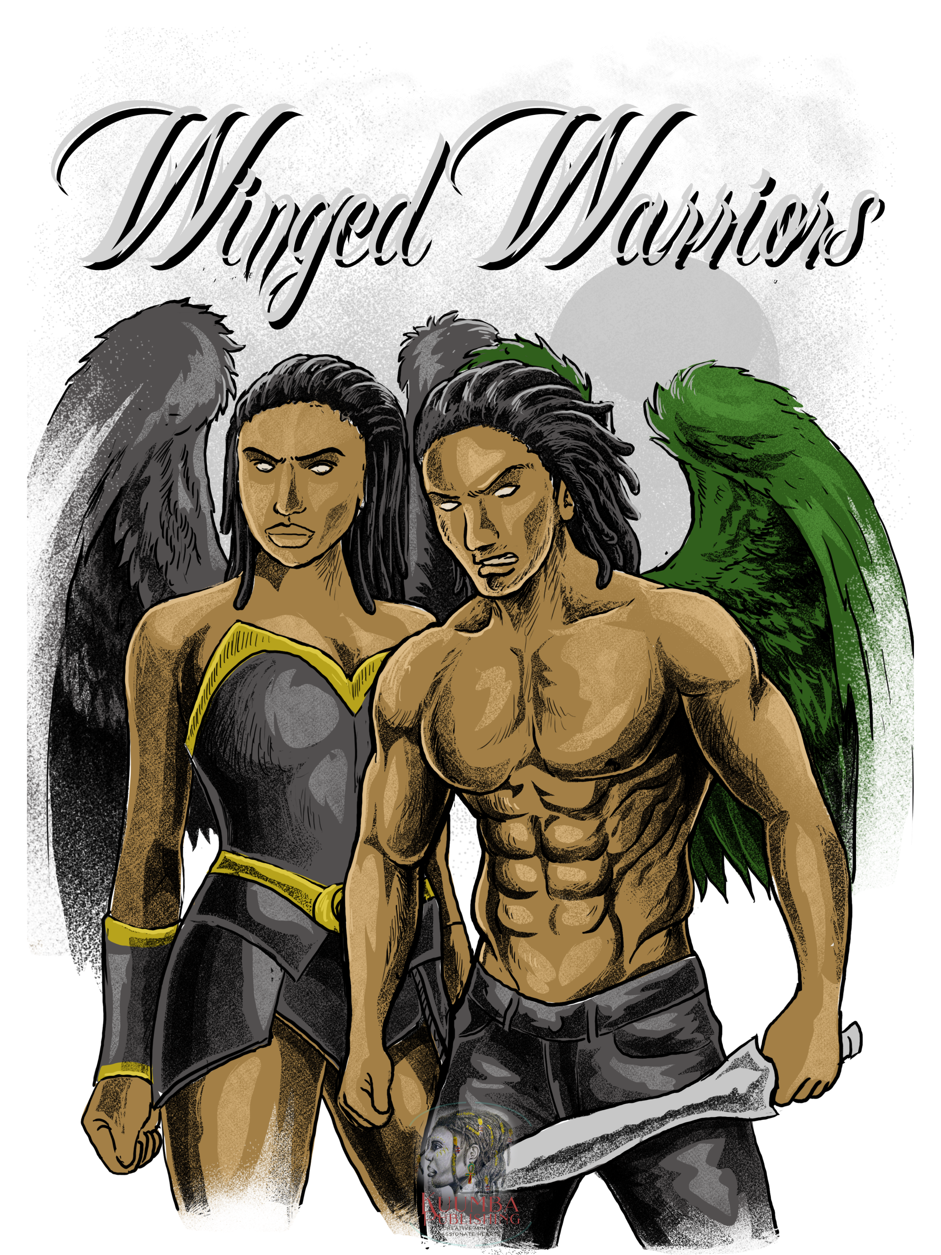 Winged Warriors African American Angels Fantasy by ND Jones